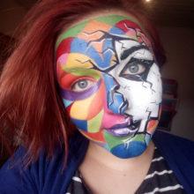 Aline Albrecht kreatives Kinderschminken-Team-Mitglied